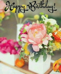 HAPPY BIRTHDAY IMAGES HD FOR WHATSAPP & FACEBOOK WITH RED ROSE