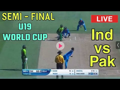 India vs Pakistan U19 CWC Live Streaming-PAK vs India
