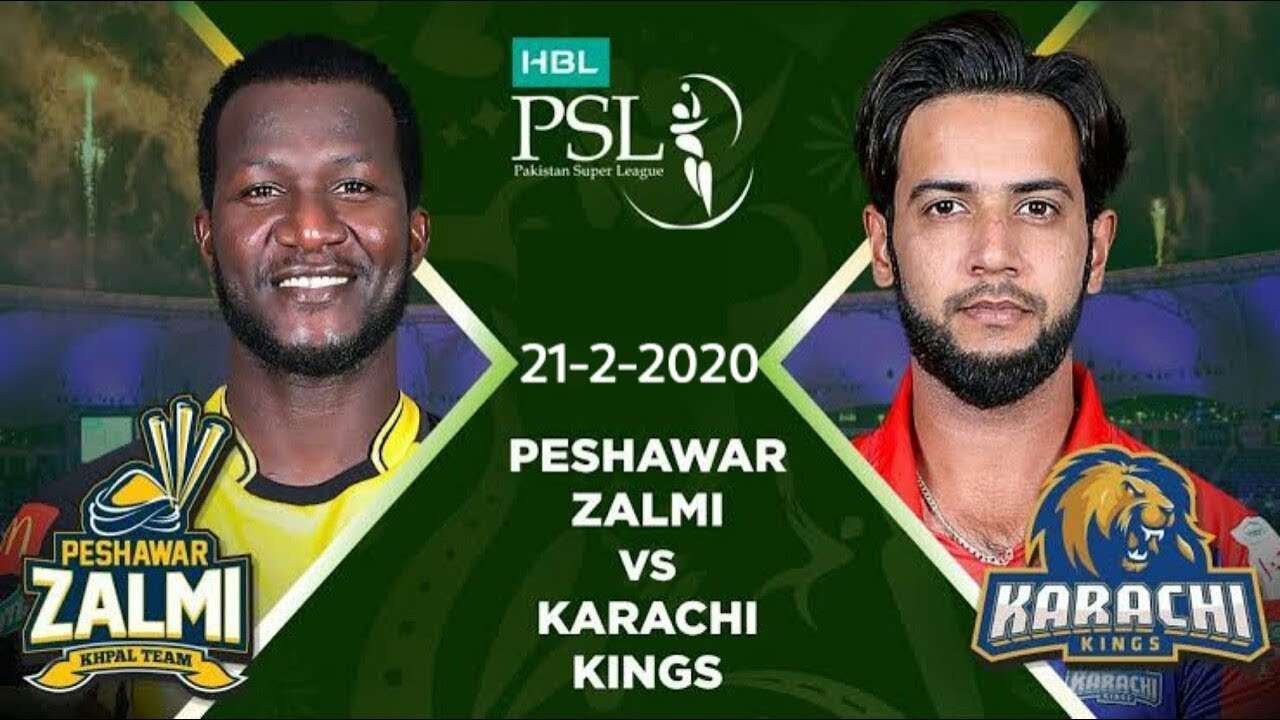 PTV Sports Live Streaming-Karachi Kings vs Peshawar Zalmi Live