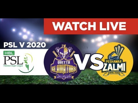 PTV Sports Live Streaming-PSL Live Score-PSL Today Match QG vs PZ