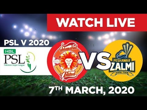 PTV Sports Live Streaming-PSL Live Score-PSL Today Match PZ vs IU