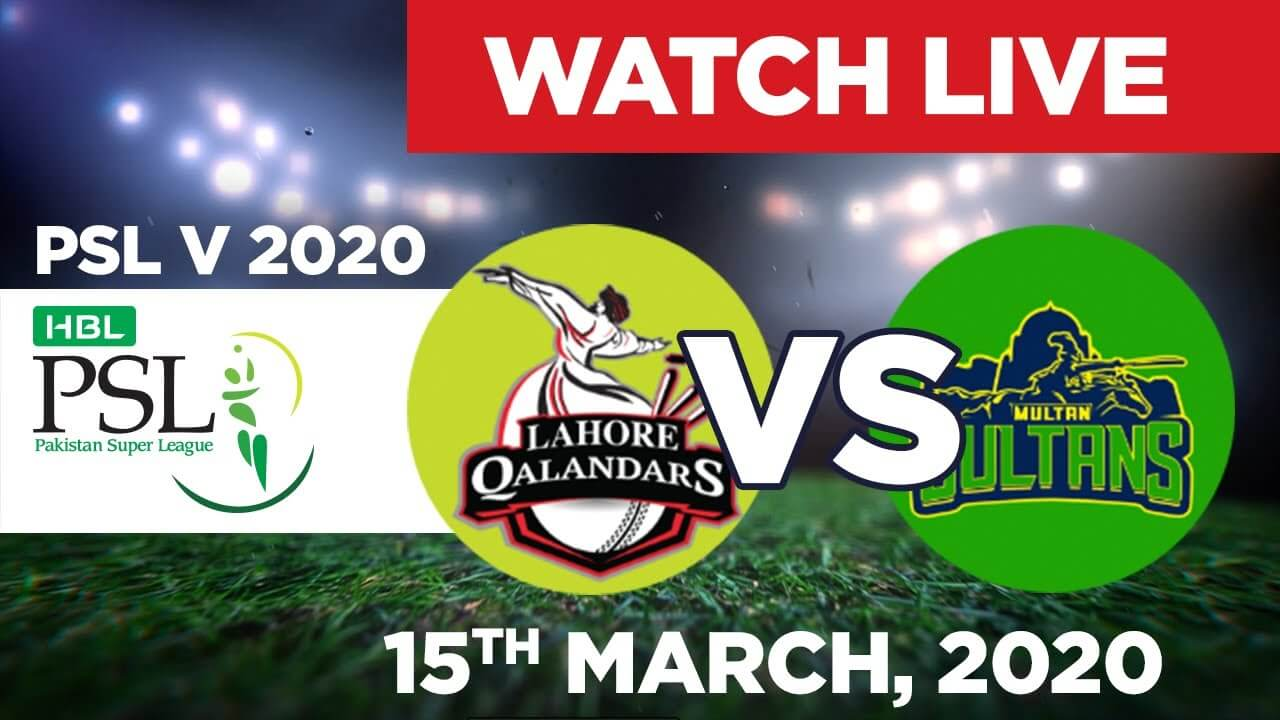 PTV Sports Live Streaming-PSL Live Score-PSL Today Match LQ vs MS