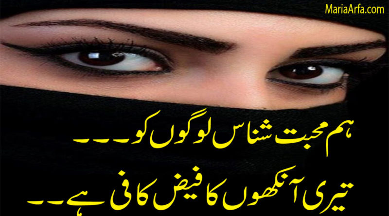 Best Urdu Poetry-Friendship Poetry-Poetry sms-2 line poetry in urdu