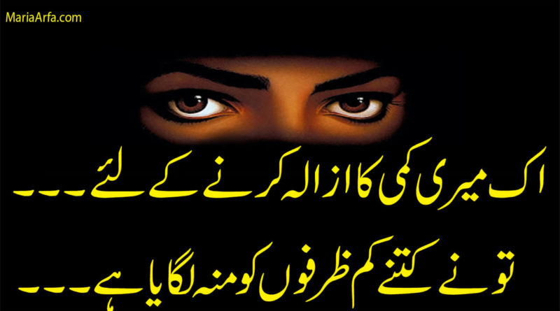 Urdu poetry-Nafrat poetry-Matlabi poetry-Urdu shayari-Best Urdu Poetry