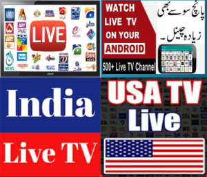 Pakistan,India and USA Live TV Channels