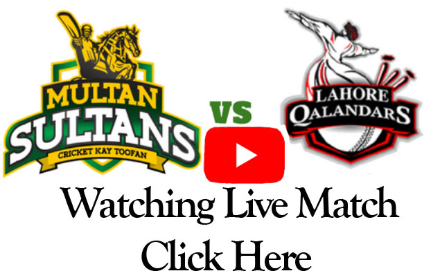 PTV Sports Live Streaming-Lahore Qalandars vs Multan Sultan Live