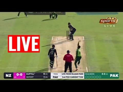 PTV SPORTS LIVE STREAMING-PAKISTAN vs NEW-ZEALAND 3RD T20 LIVE
